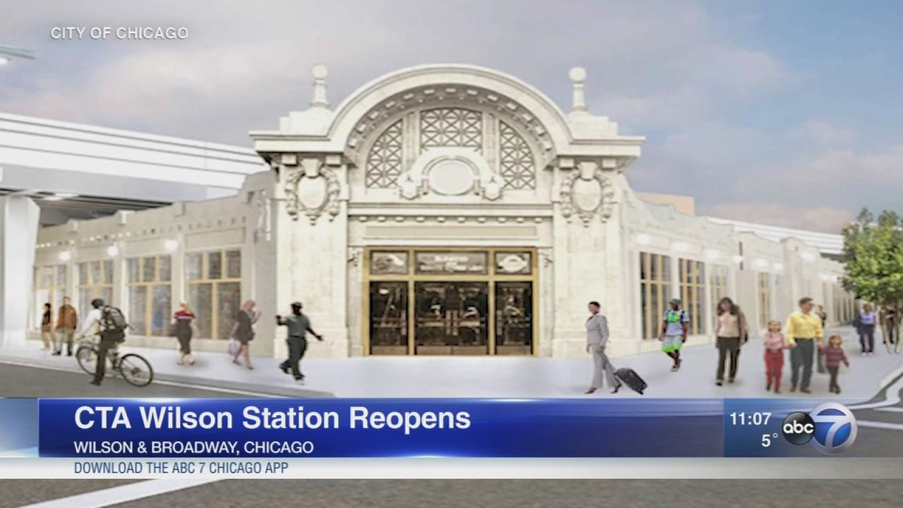 CTA Wilson Station reopens