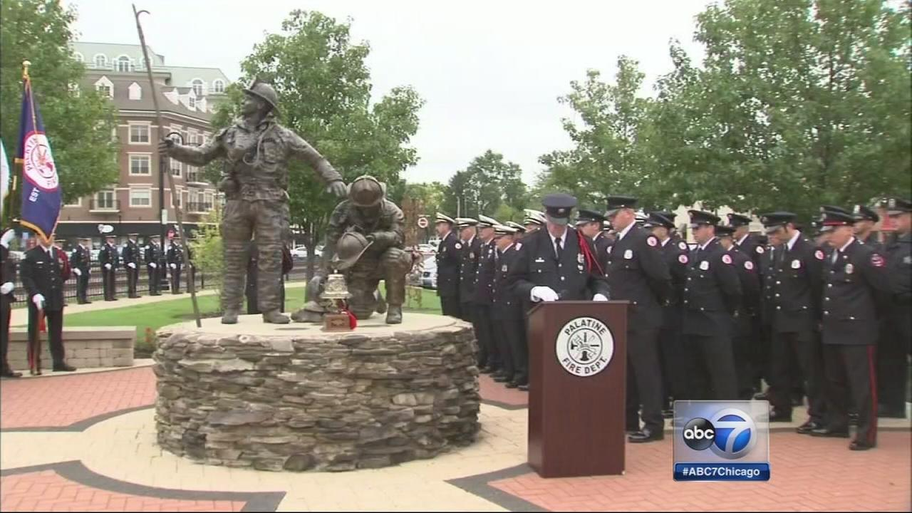 Palatine marks 9/11 anniversary with tribute