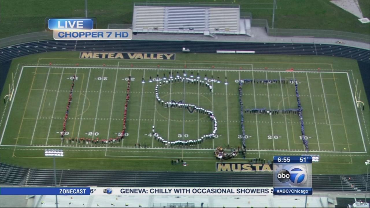 Friday Flyover Metea Valley High School