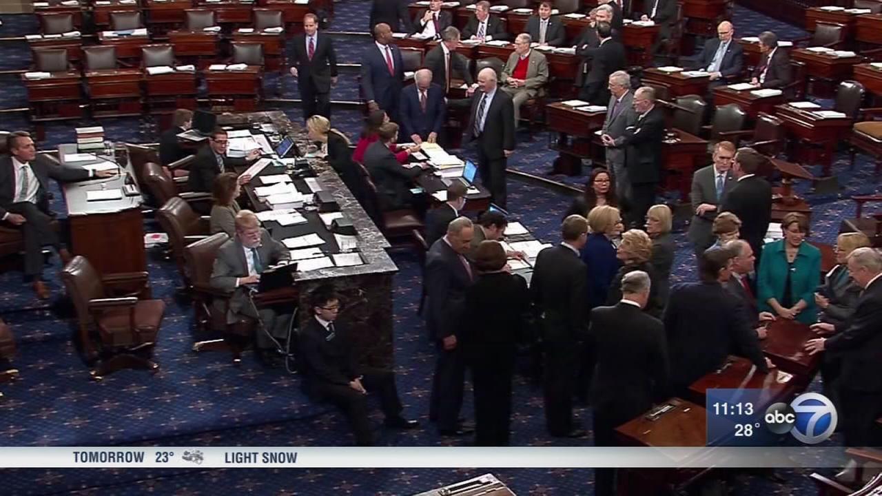 Trump signs bill to end brief government shutdown