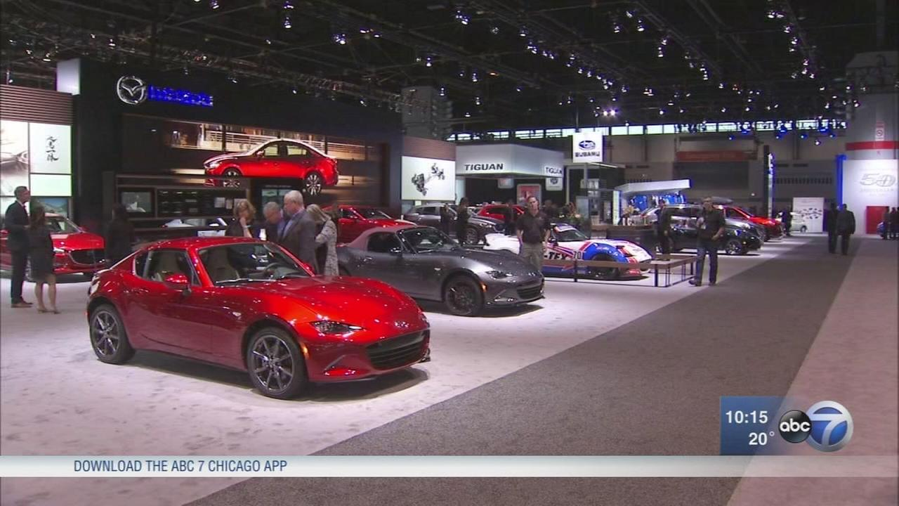 Chicago Auto Show First Look for Charity gala Friday night