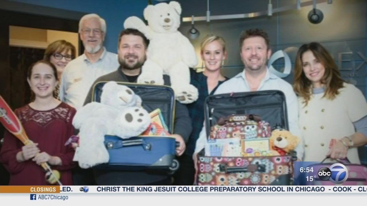 Fundraiser provides Luggage of Love for foster children