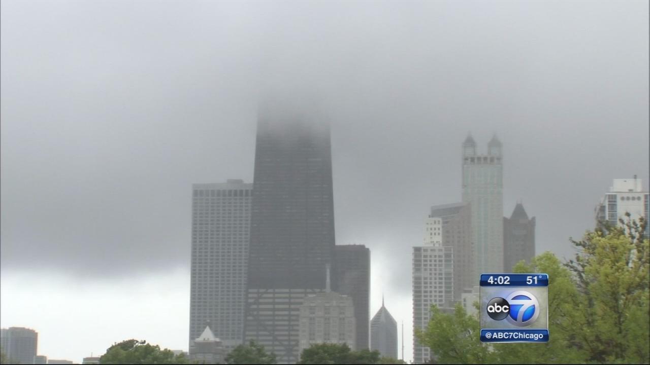 Unseasonably cool weather hits Chicago area