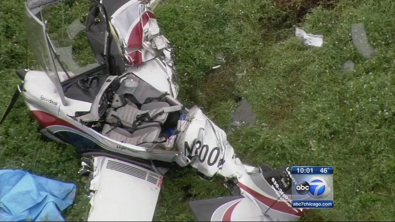 Pilot, student survive LaSalle Co. plane crash