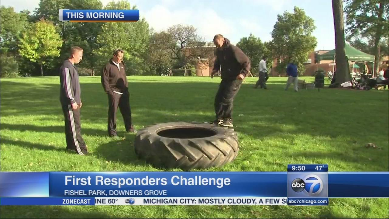 100 Club First Responders Challenge comes to Downers Grove