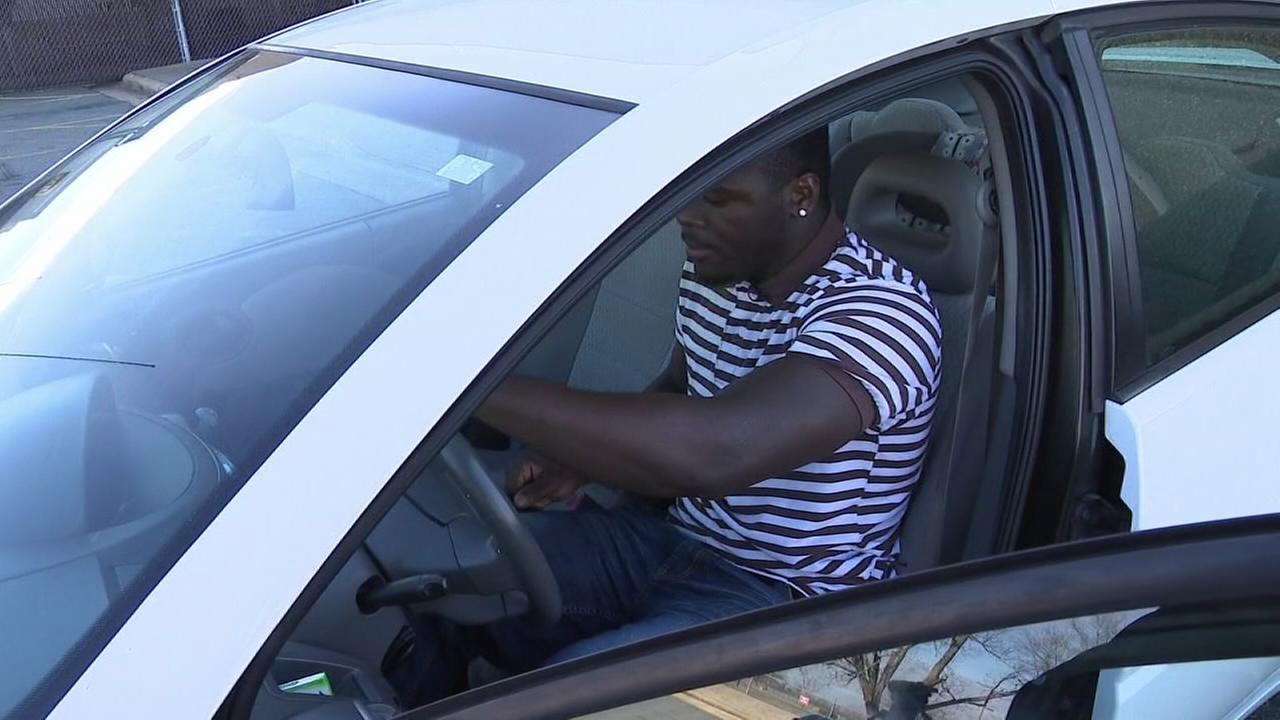 Coworkers give man who walked to work a car
