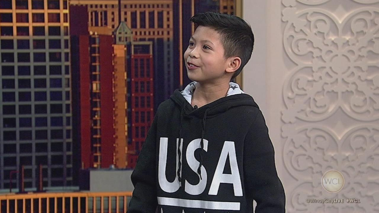10-year-old break dancing prodigy from Oak Park