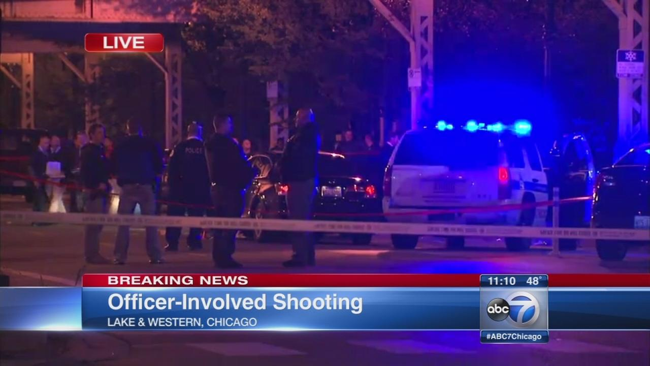 Man shot by police after allegedly tried to hit officer with car