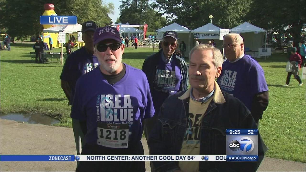 SEA Blue Prostate Cancer Walk underway in Lincoln Park