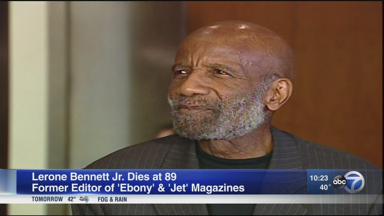 Lerone Bennett Jr., former Ebony and Jet editor, dies