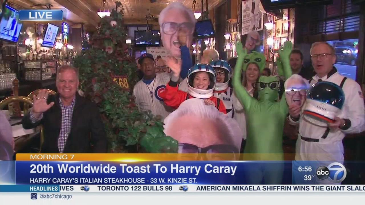Annual Toast to Harry Caray