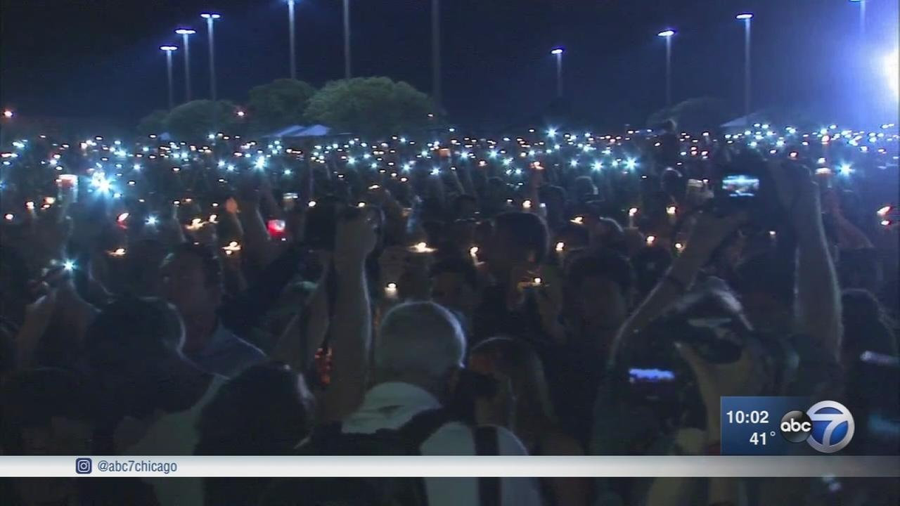 Florida school shooting victims honored at vigil, teen denied bond on 17 murder counts