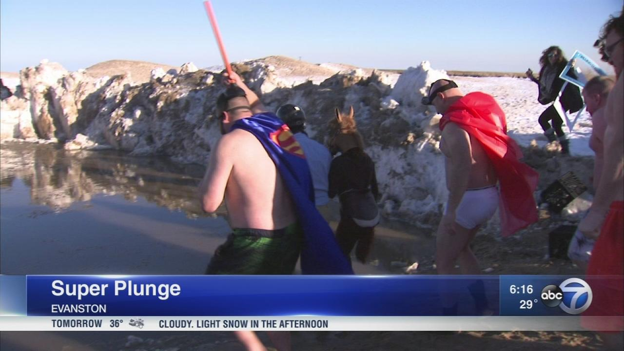 Super Plunge returns to Evanston