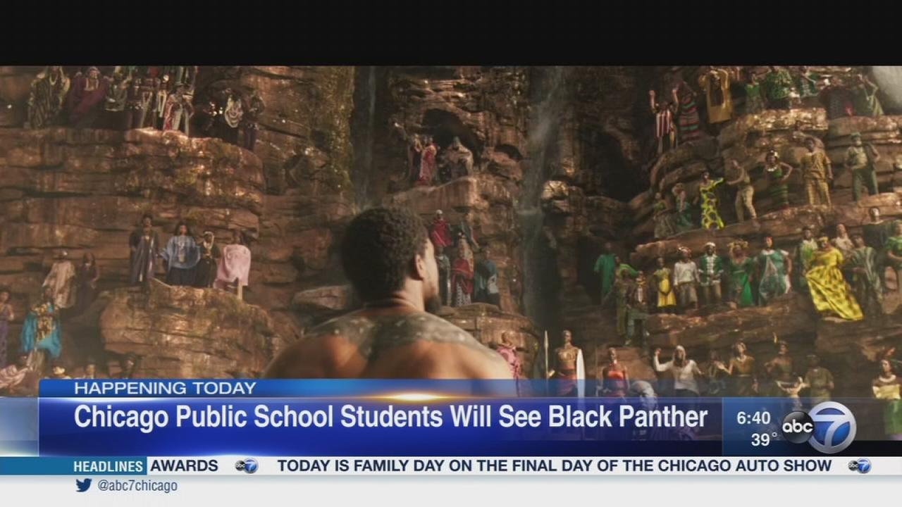 CPS students attending free screening of ?Black Panther?