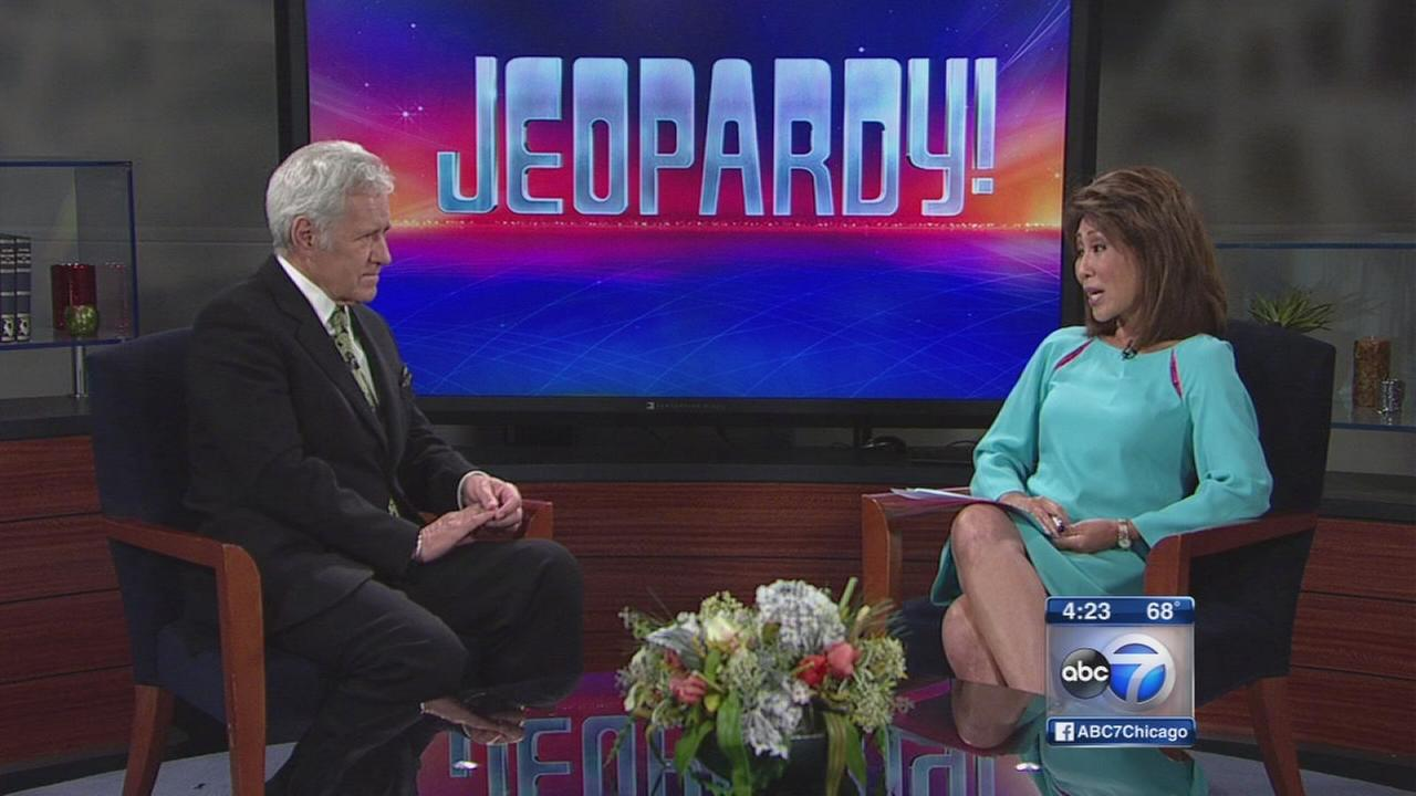 Alex Trebek talks mustache, new season