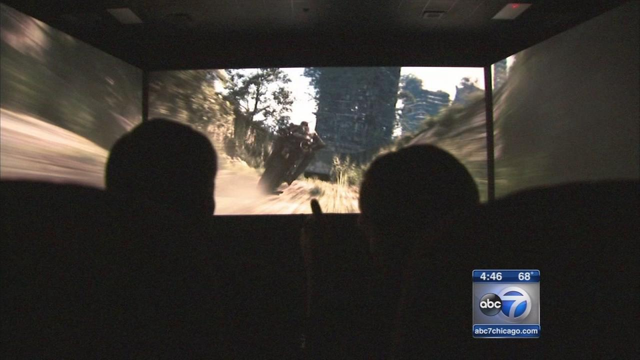 Woodridge movie theater boasts screen with 275-degree view