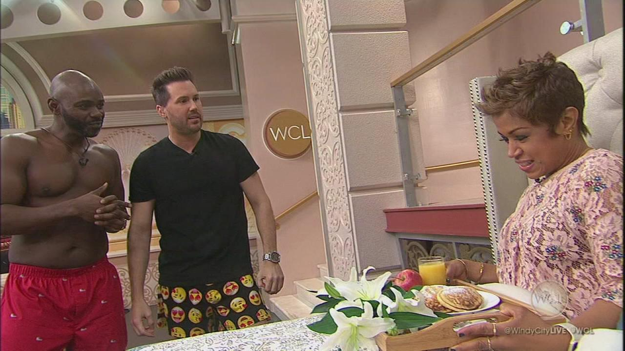 Chef Mark Bailey makes Val breakfast in bed