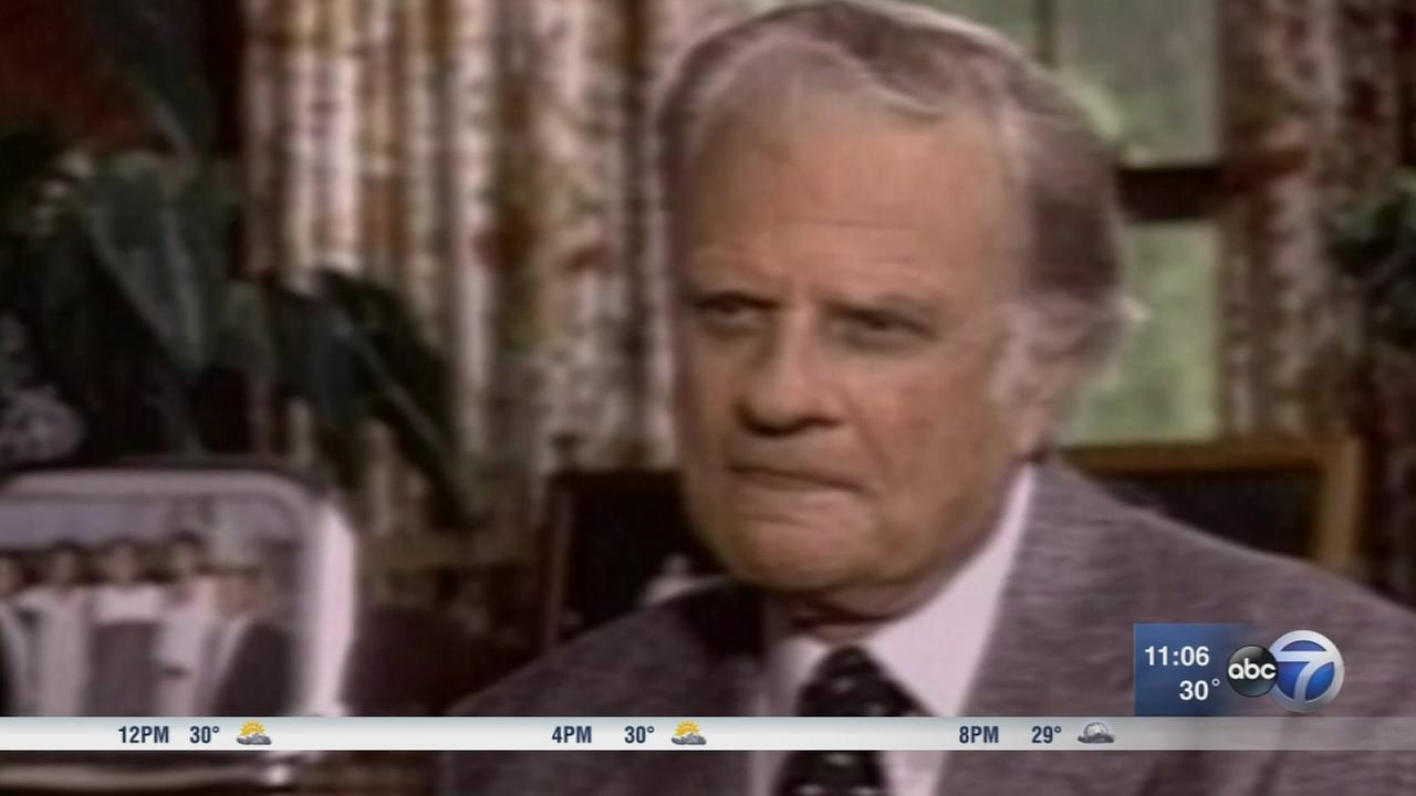Rev. Billy Graham dies at 99