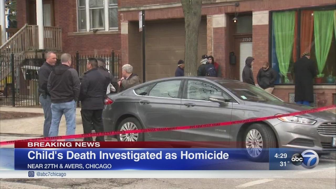 2-year-old boys death in Little Village investigated as homicide