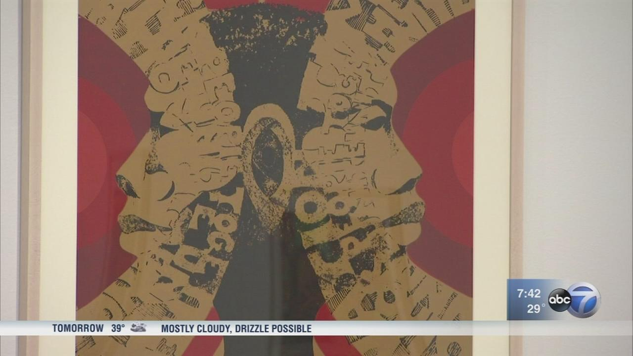 Celebrated black artist featured in DePaul Art Museum exhibit