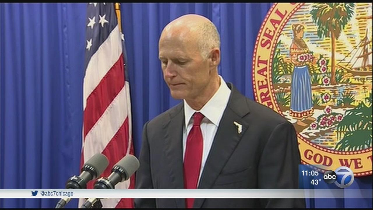 Fla. Gov. Rick Scott unveils gun law changes