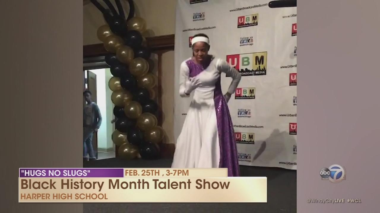 Hugs No Slugs Black History Month Talent Show