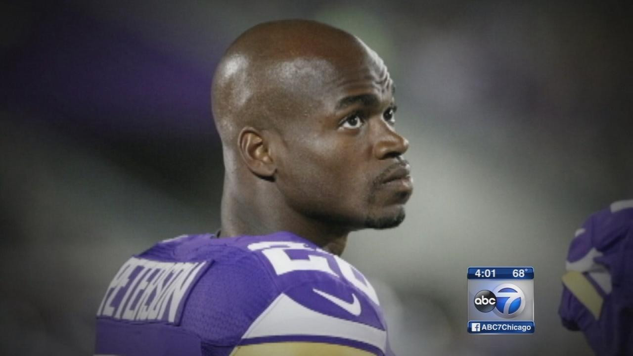 Adrian Peterson benched by Minnesota Vikings