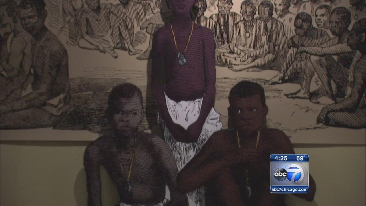 DuSable exhibit follows slave trade