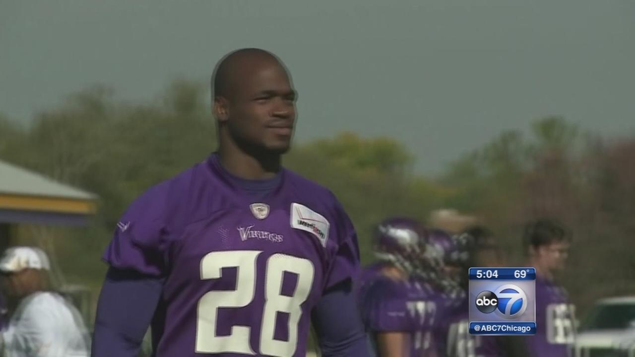 Minnesota Vikings bench RB Adrian Peterson