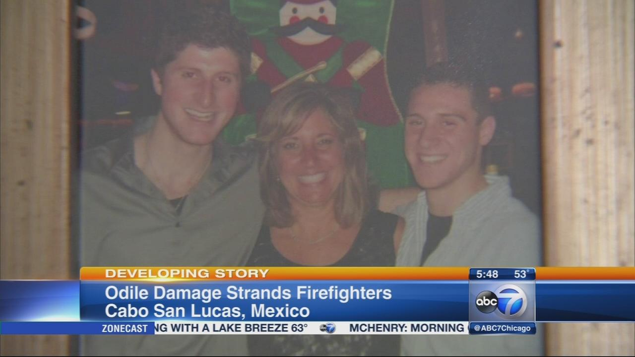 16 Hoffman Estates firefighters stranded in Cabo