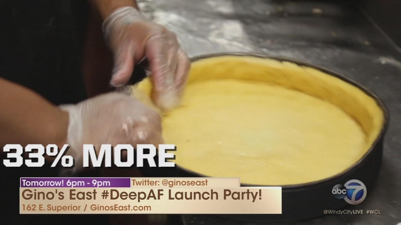 Gino?s East launches #DeepAF pizza