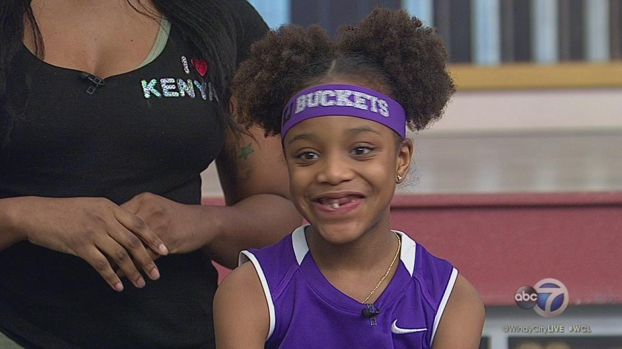 7-year-old Chicago basketball prodigy gets surprise