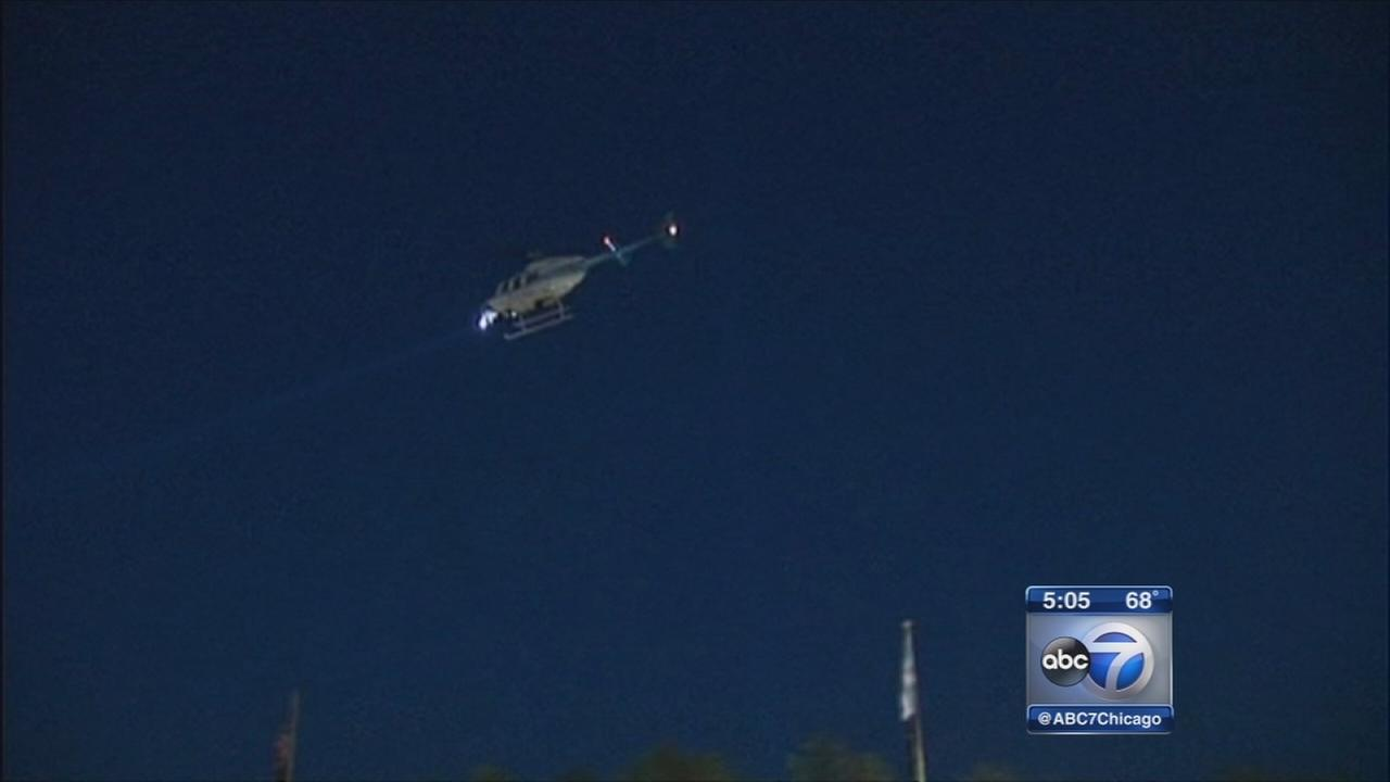 Police using helicopters to patrol Rogers Park