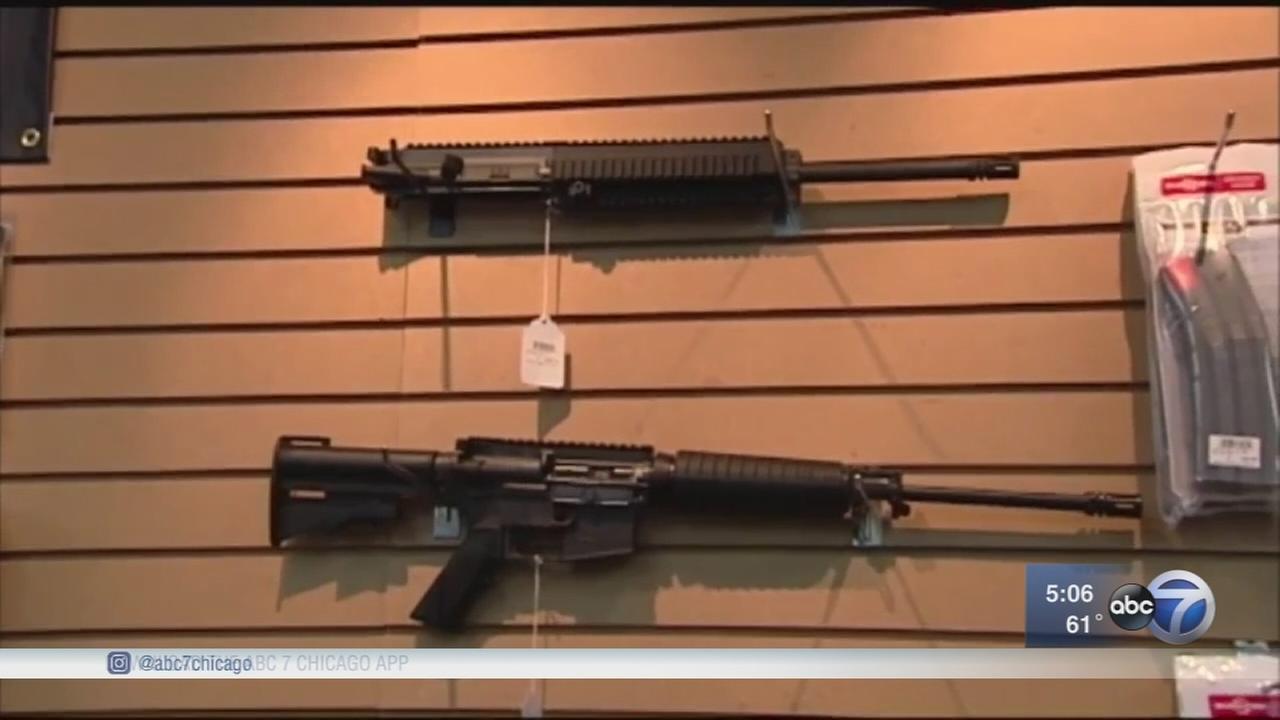 DuPage gun show cancels AR-15 raffle, protest still planned