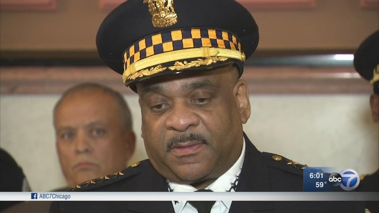 Supt. Eddie Johnson testifies in favor of gun control legislation