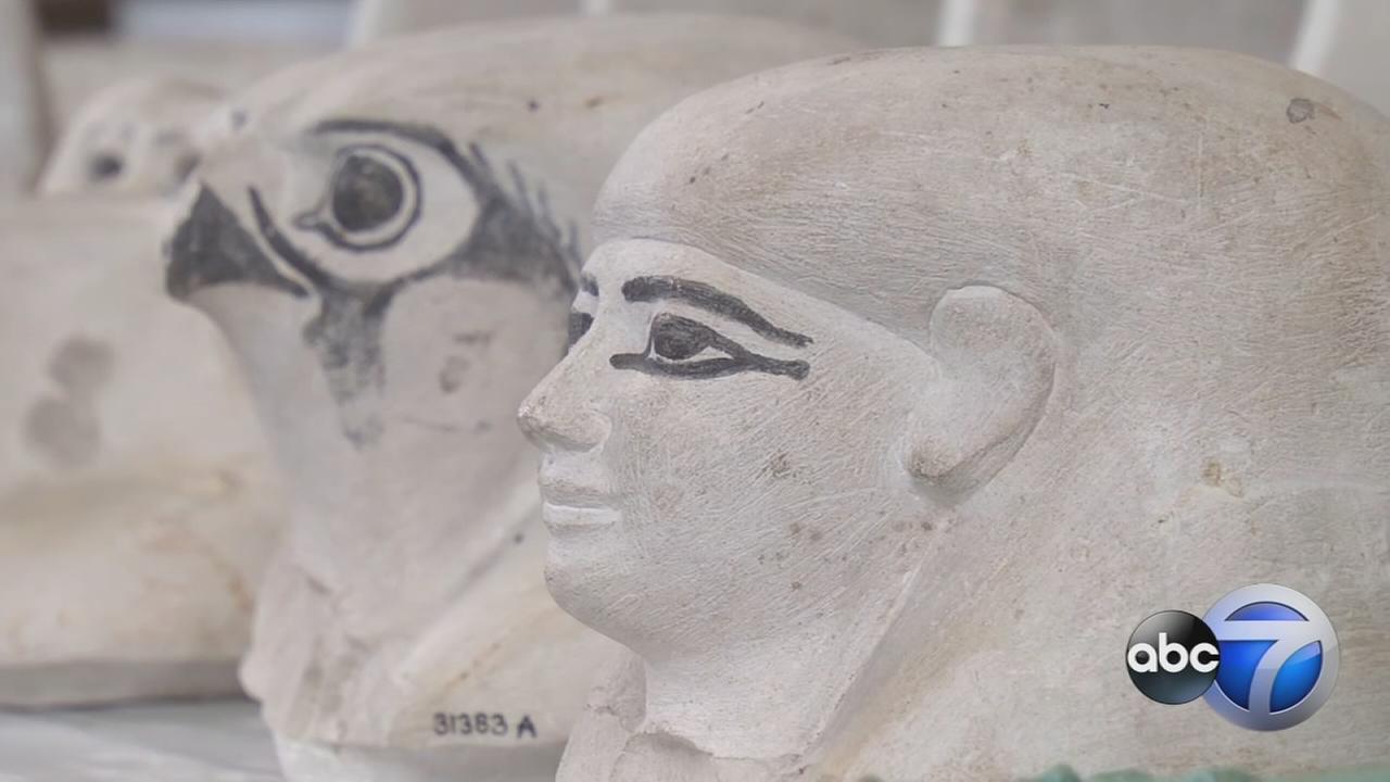 Mummies return to The Field Museum