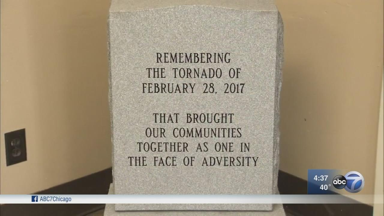 Naplate marks one-year anniversary of deadly tornado