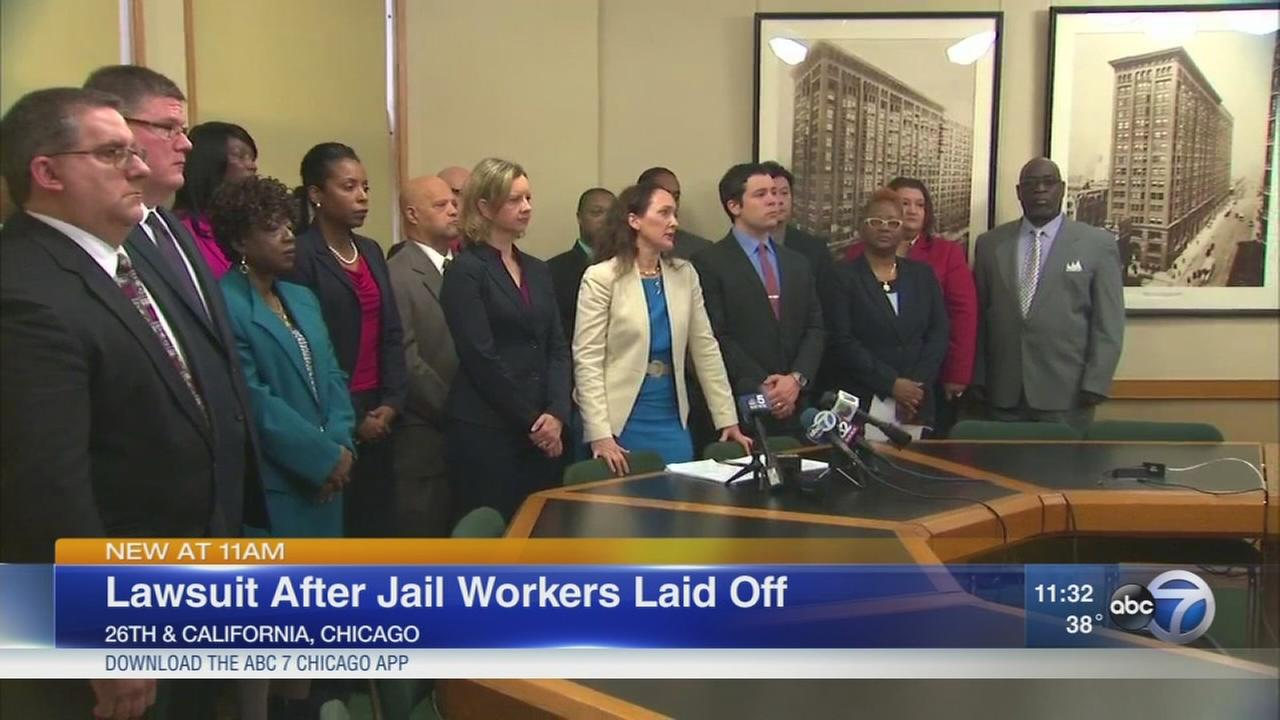 Laid off jail workers file suit against Sheriff Dart
