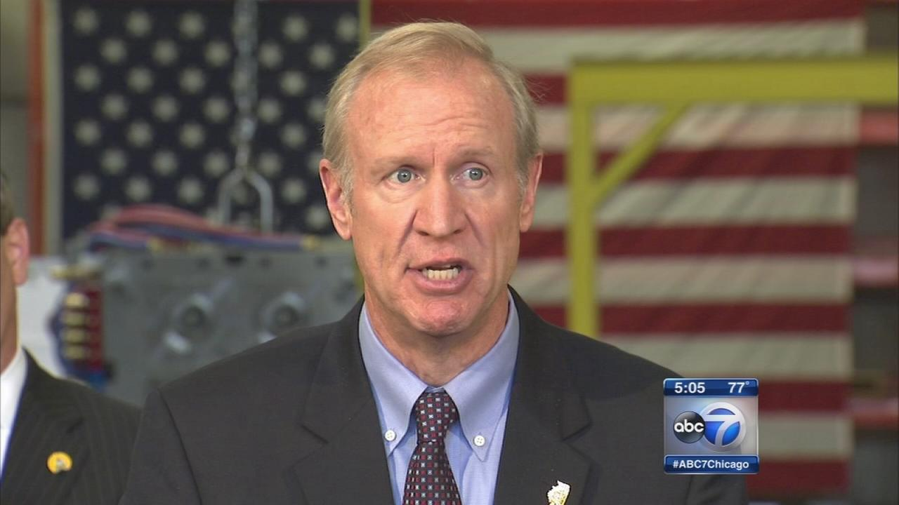 Rauner announces endorsement from Illinois Chamber of Commerce