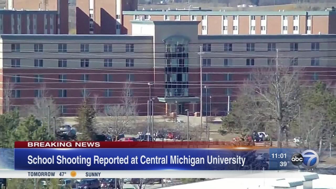 Central Michigan University shooting kills 2; shooter at large