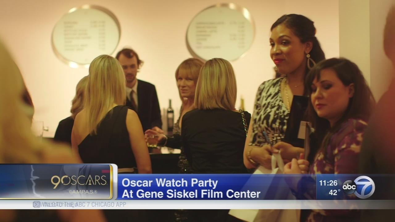Oscar watch party at Siskel Film Center Sunday