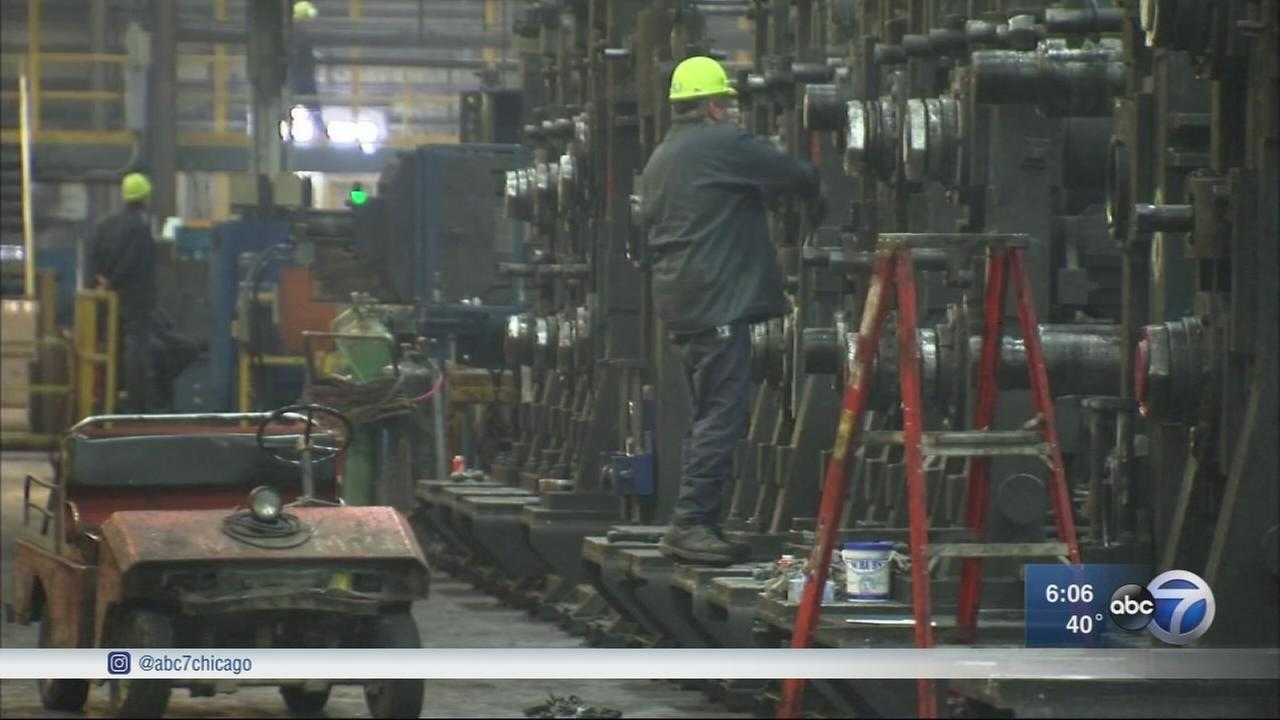 Local steel industry supports Trumps push for tariffs
