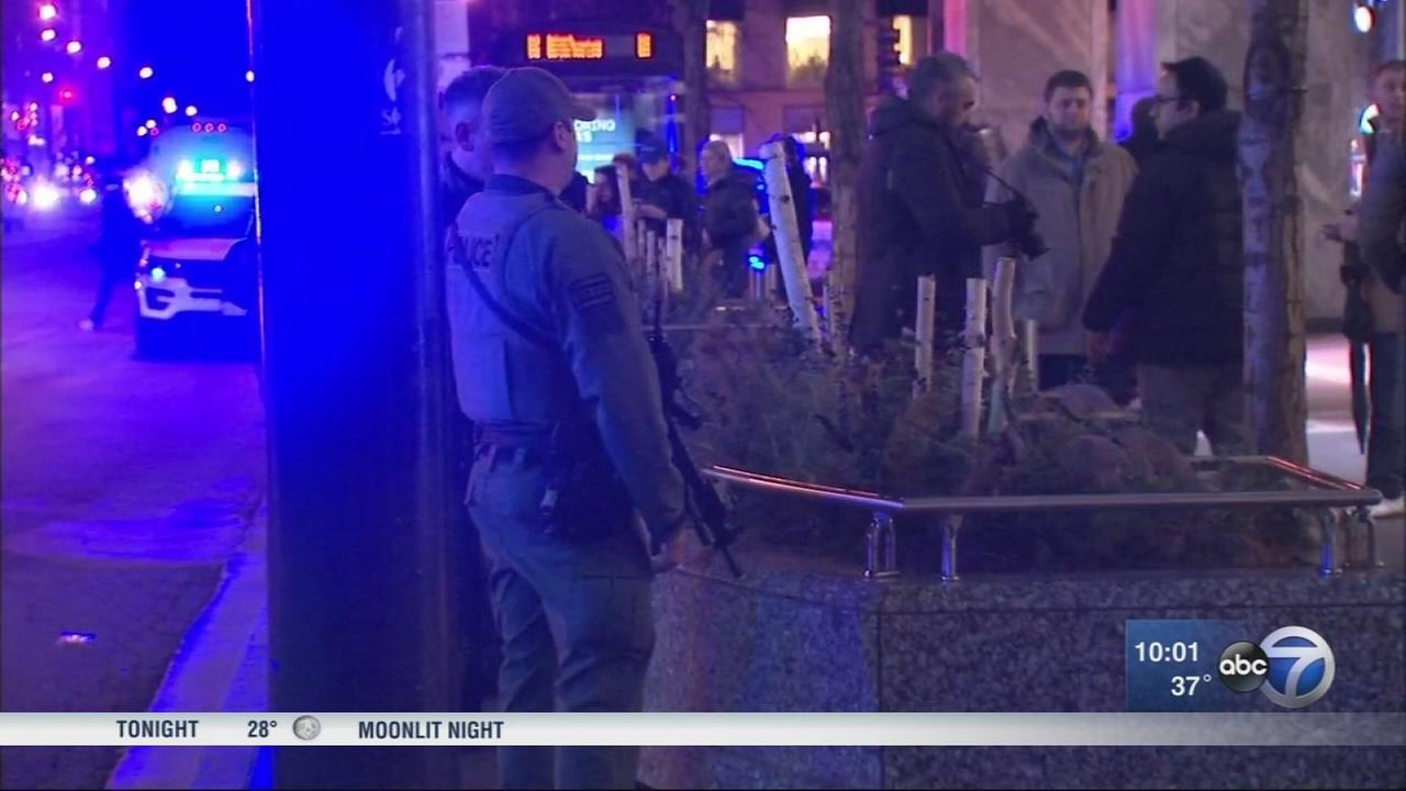 Water Tower Place reopens after shots fired on 7th floor