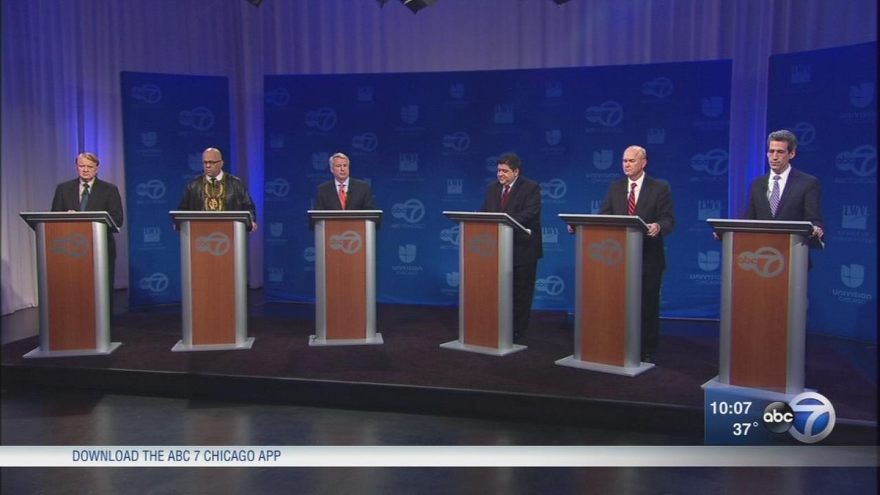 Democrats take aim at gun control, school safety, each other in ABC 7 debate