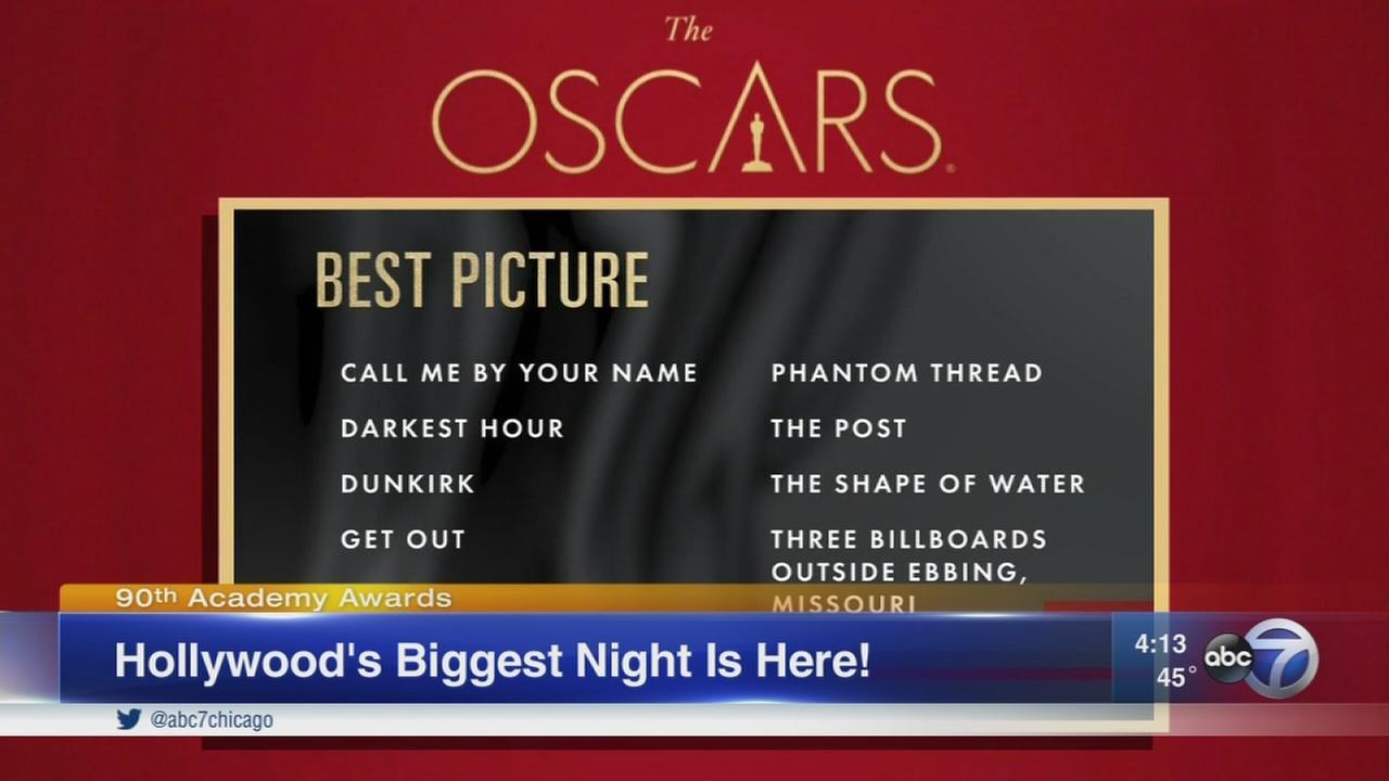 Oscar Sunday underway in Hollywood