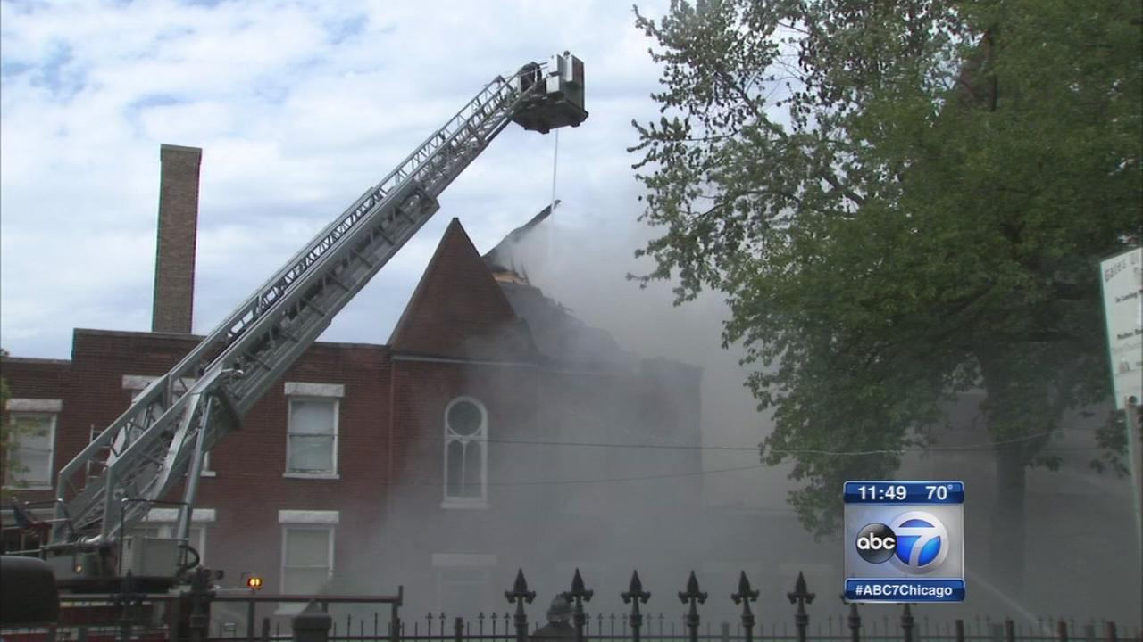 Fire destroys church in Austin neighborhood