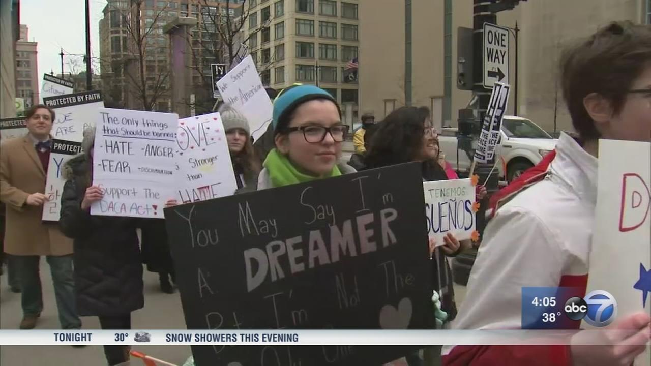 DACA rally supports recipients as deadline arrives