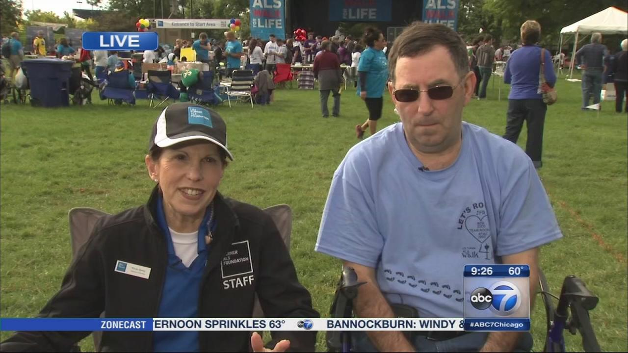 Communities gather for 13th annual Les Turner ALS Walk for Life