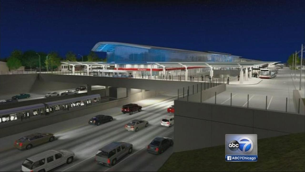 CTA begins $240M rehab on 95th Street/Dan Ryan station