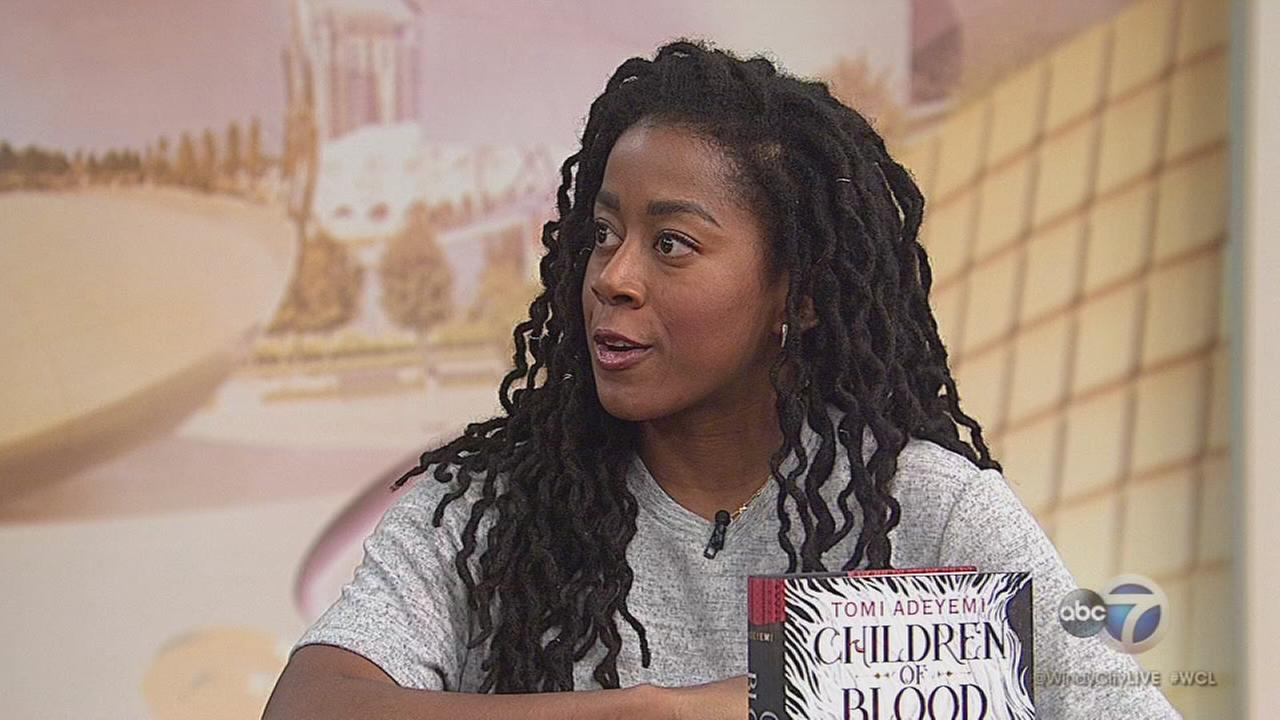 Tomi Adeyemi talks about Children of Blood and Bone